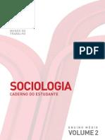 Sociologia - Mundo Do Trabalho - Volume 2