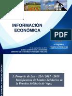 Informe económico 21/09/17 a cargo de Mario Guillén