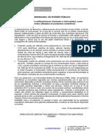 C69_2017!09!19-Sobre El Uso de Antibacterianos (Triclosán y Triclocarbán), Como