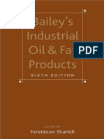 Bailey's Industrial Oil and Fat Products, 6 Volume Set