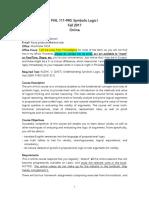 Microsoft Word - PADOVANI_Syllabus 111 Online-FALL-2017