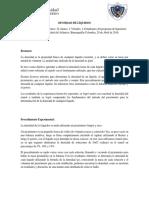 Densidad de Liquidos- Informe