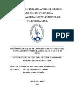 Proyecto Investigacion DISEÑO DE MEZCLAS 350