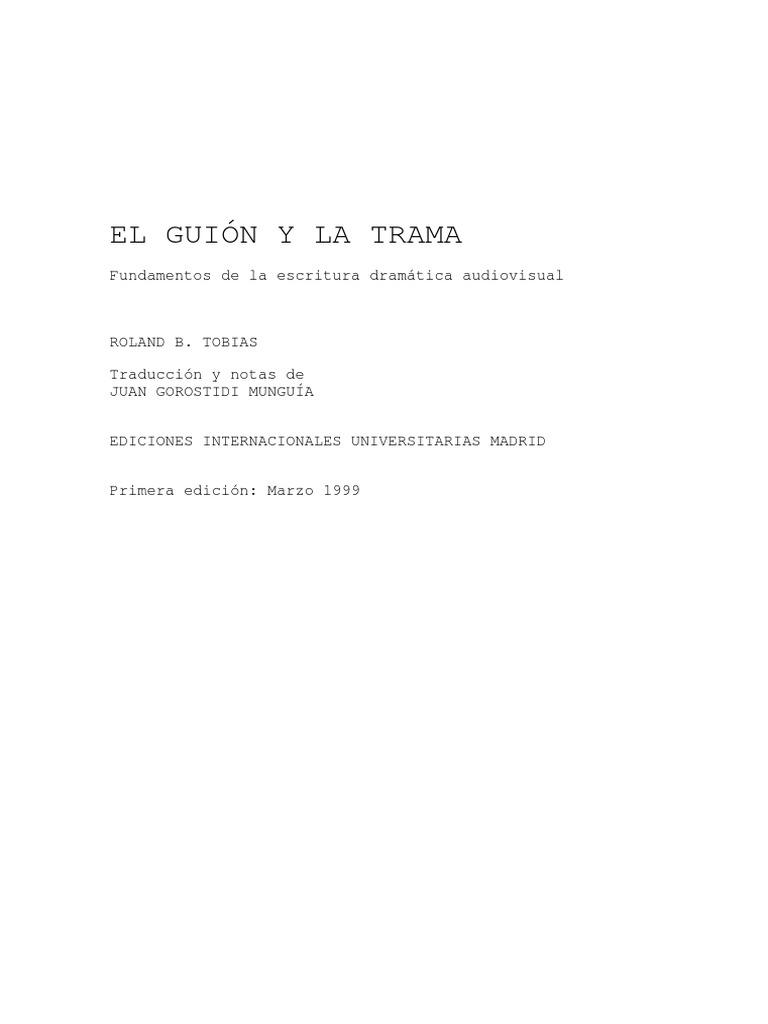 El guión y la trama - Ronald Tobias.pdf