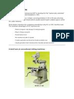 NC and CNC Machines
