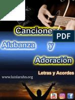 Cancionero - Letras y Acordes de Alabanza y Adoración