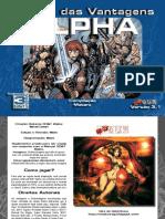 3D&T - Manual Das Vantagens Alpha 2.0