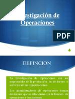 1 Investigacion de Operaciones