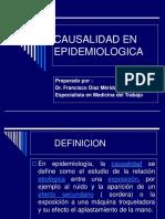 Causalidad en Epidemiologica