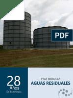 Plantas Modulares Para Aguas Residuales Manuel Castro
