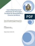 Pandillas Nicaragua