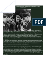 """""""La Rosa Blanca"""" Resistencia Universitaria en Alemania Contra El Nazismo"""