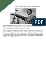 Hitler El Monstruo Creado Por La Banca Internacional