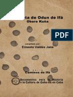 Carpeta de Odun de Ifa Documentos Para l