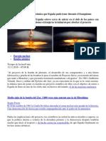 Proyecto Islero, La Bomba Atómica Que España Pudo Tener Durante El Franquismo