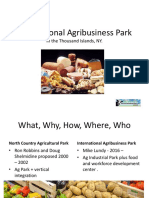 International Agribusiness Park Presentation