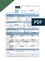 Modelo de Llenado de Formulario Unico de Edificacionlicencia de Obra