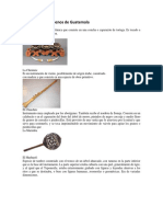 Instrumentos Autocnos de Guatemala e Idiomas de Guatemala Ilustrado