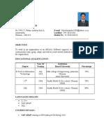 35774633 Sap Fresher Resume