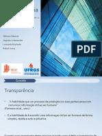 Transparência - Grupo 4