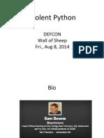 ViolentPython-DEFCON-2014.pdf