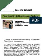Derecho Laboral Tarea 6
