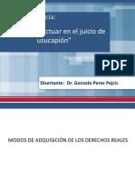PPT. Claves para actuar en el juicio de usucapión USUCAPION.pptx