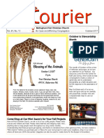 October 2017 Courier