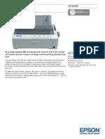 Epson FX 890 Datasheet