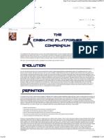 The Cinematic Platformer Compendium - NeoGAF