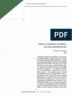 Critica Literária e Jornal - Silviano Santiago (2004)