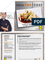Receta Ensalada Frutas Temporada Bayas Infusion Frutas Top Chef Lidl