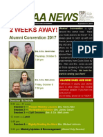 september 21 2017 alumni newsletter