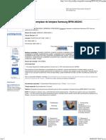 Lámpara Samsung BP96-00224C Guía de Reemplazo