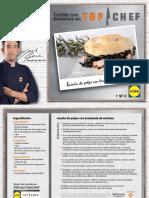 Receta Lasana Pulpo Brandada Merluza Top Chef Lidl
