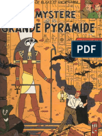 4-Blake and Mortimer - The Mystery of the Great Pyramid, Volume 1 Manetho's Papyrus, 1954
