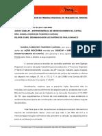 Razões Finais Daniela Santos e Outros