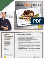 Receta Milhojas Hojaldre Chocolate