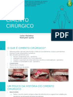 Cimento Cirurgico