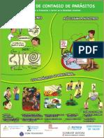 Afiche Prevencion de Parasitosis