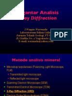 Intro XRD Analyses