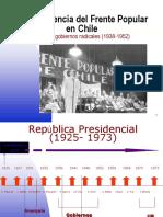 La Experiencia Del Frente Popular en Chile (1)