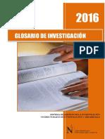 2016 GLOSARIO DE INVESTIGACIÓN.pdf