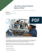 Carreras Tecnicas Peru