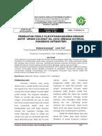 f 10 Pembuatan Edible Film Kitosan Maizena Dengan Aditif Virgin Coconut Oil Vco Sebagai Material Pengemas Antibakteri Endang Susilowati