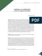 Los Subtítulos y La Subtitulación
