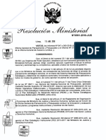 Resolución Ministerial