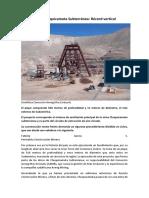 Pique Chuquicamata Subterránea