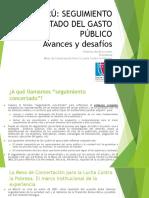 1. Seguimiento Concertado Gasto Publico en Peru
