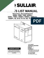 Compresor Sullair 7500 en Word